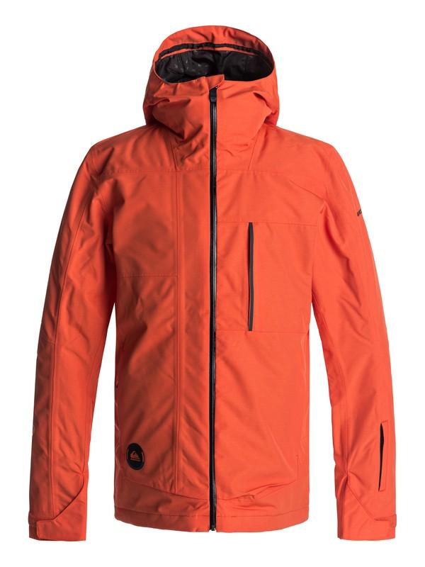0 Сноубордическая куртка Sycamore Оранжевый EQYTJ03120 Quiksilver