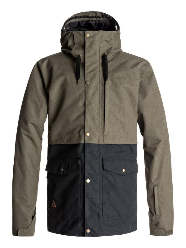 0 Сноубордическая куртка Horizon Коричневый EQYTJ03122 Quiksilver