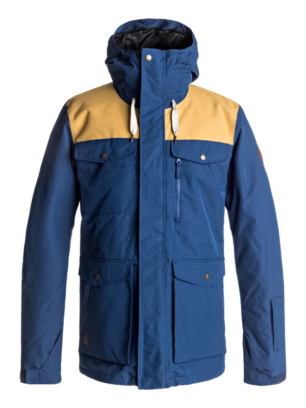 0 Raft Snow Jacket Blue EQYTJ03125 Quiksilver