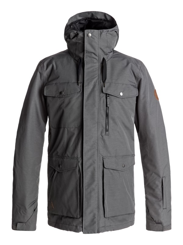 0 Raft Snow Jacket Black EQYTJ03125 Quiksilver