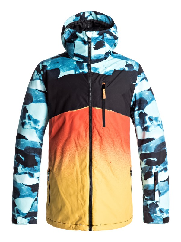 0 Mission Engineered - Veste de snow Bleu EQYTJ03127 Quiksilver
