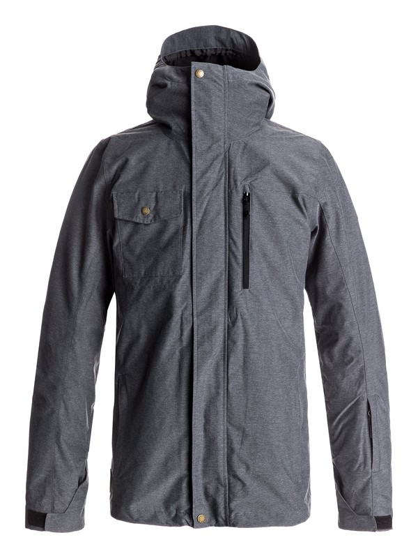 0 Mission 3-in-1 Snow Jacket Black EQYTJ03148 Quiksilver
