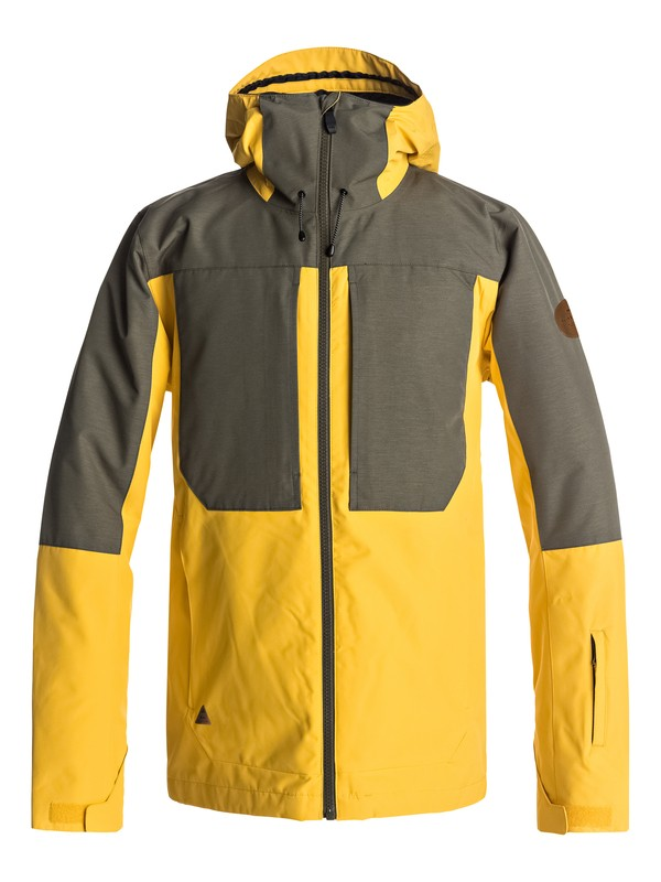 0 Ambition Snow Jacket Yellow EQYTJ03155 Quiksilver