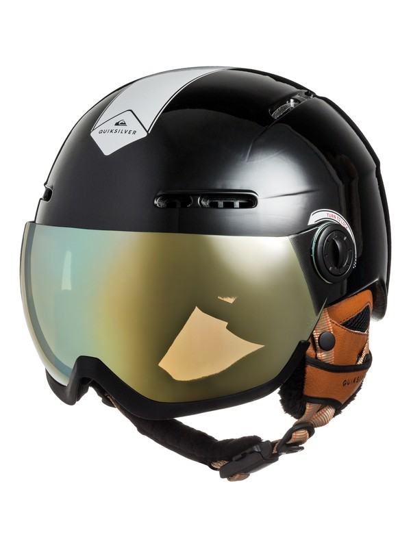 0 Foenix - Casque de snowboard avec masque visière intégré Noir EQYTL03013 Quiksilver