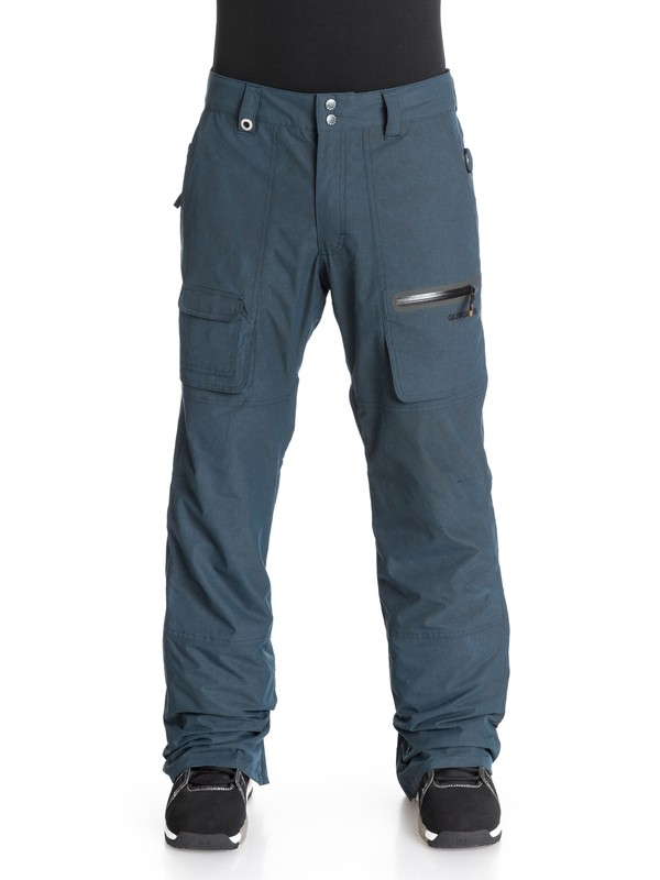 0 Dark And Stormy 15K Snow Pants  EQYTP03004 Quiksilver