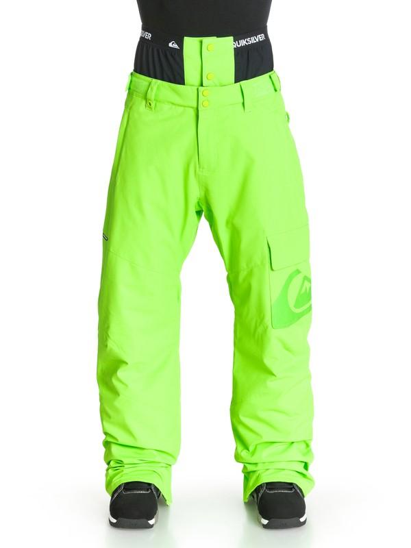0 County INS - Pantalon de snow  EQYTP03007 Quiksilver