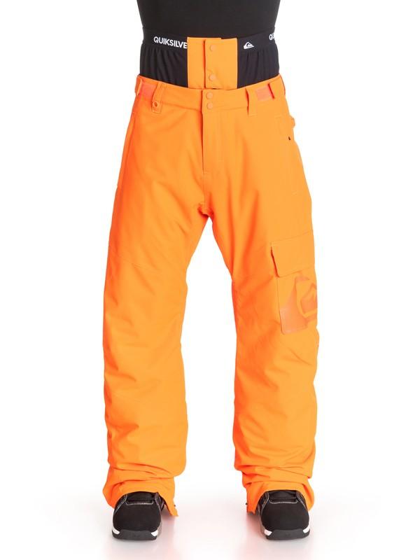 0 County INS - Pantalon de snow Orange EQYTP03007 Quiksilver