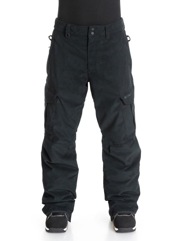 0 Mission Corduroy - Pantalon de snow  EQYTP03017 Quiksilver