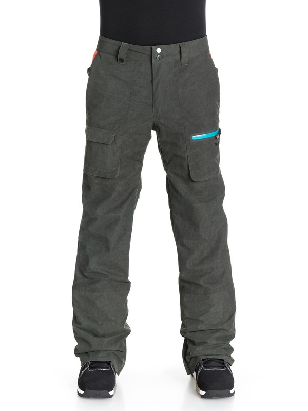 0 Alex Courtes Dark And Stormy 15K Snow Pants  EQYTP03024 Quiksilver