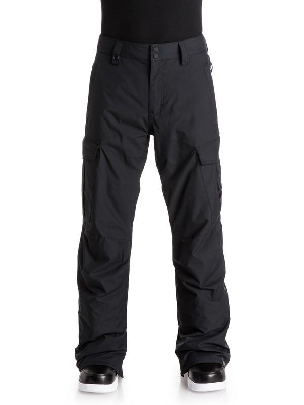 0 Сноубордические штаны Porter Ins Черный EQYTP03030 Quiksilver