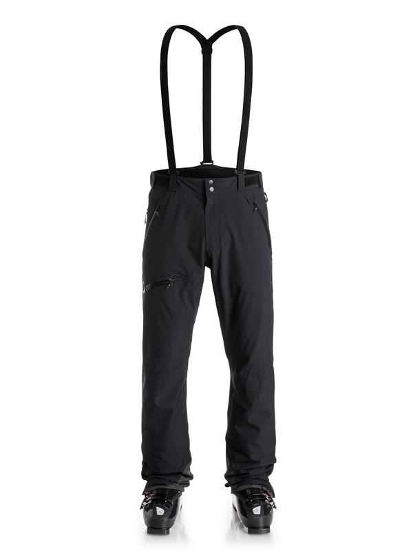 0 Orbitor - Pantalon de snow Noir EQYTP03031 Quiksilver