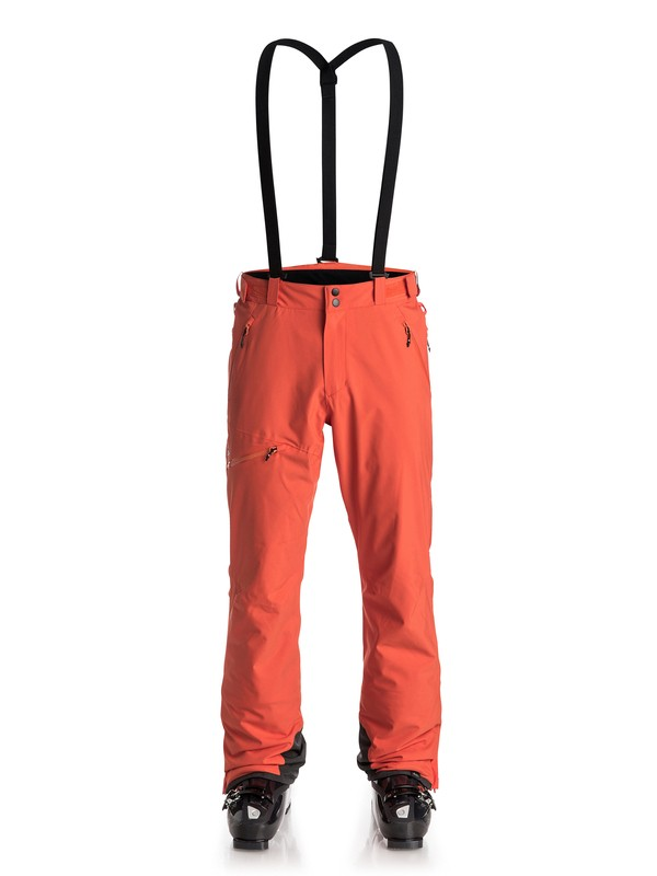 0 Orbitor - Pantalon de snow Orange EQYTP03031 Quiksilver