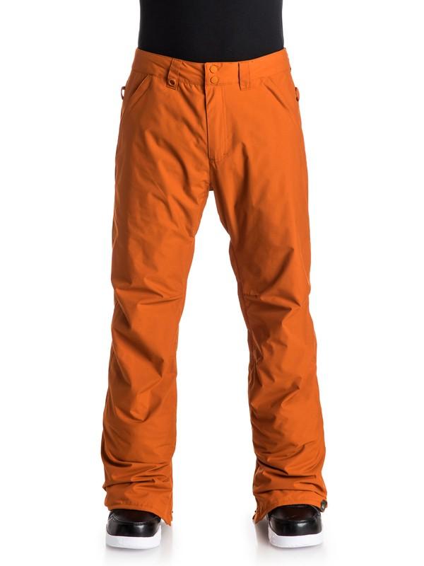 0 Estate - Pantalon de snow Orange EQYTP03033 Quiksilver