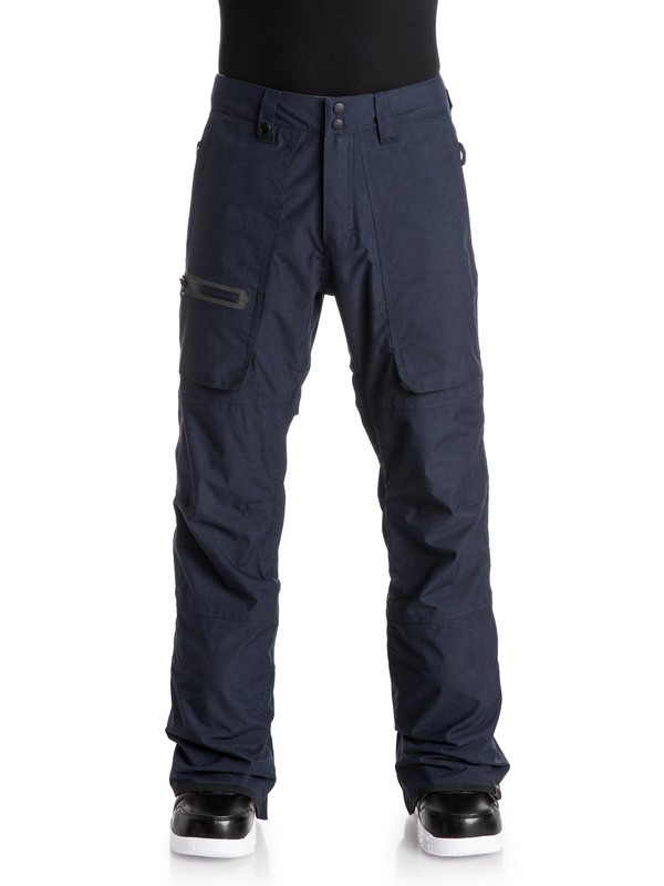 0 Dark And Stormy Snow Pants  EQYTP03034 Quiksilver