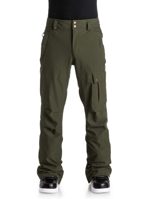 0 Reason Snow Pants  EQYTP03036 Quiksilver