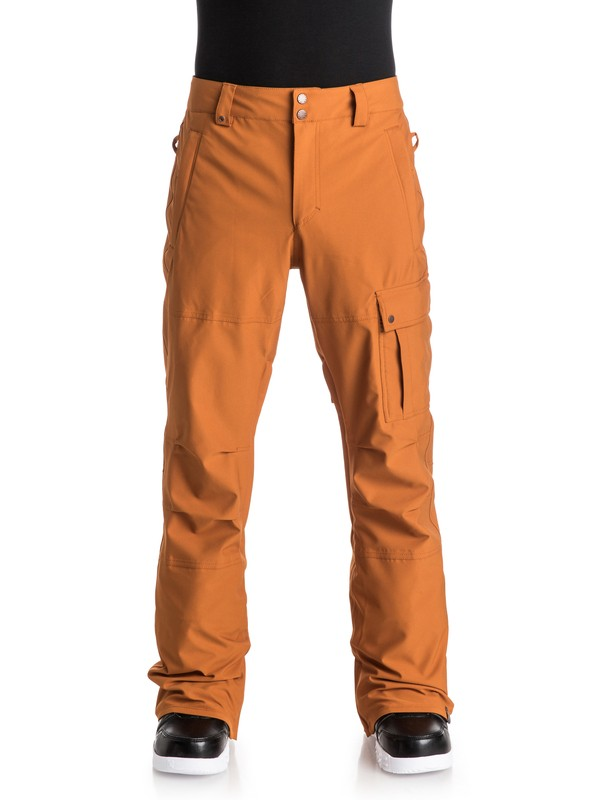 0 Reason - Pantalon de snow Orange EQYTP03036 Quiksilver