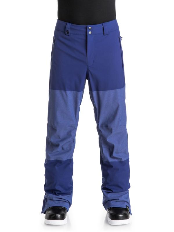 0 Stamp - Pantalon de snow Bleu EQYTP03037 Quiksilver