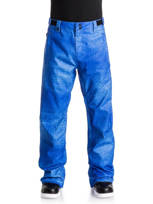 0 Quiksilver X Julien David - Pantalon de snow Bleu EQYTP03055 Quiksilver