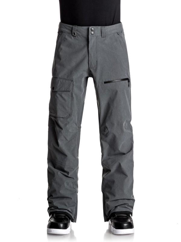0 Utility Snow Pants Black EQYTP03059 Quiksilver