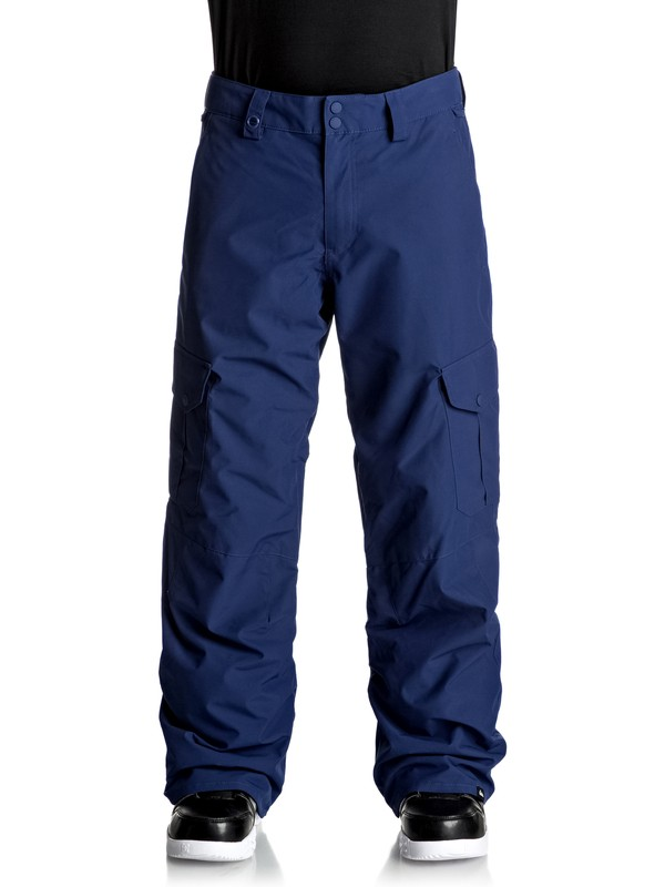 0 Porter Shell Snow Pants Blue EQYTP03060 Quiksilver