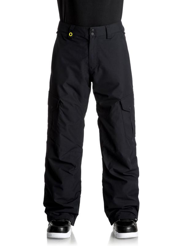 0 Porter Shell Snow Pants Black EQYTP03060 Quiksilver