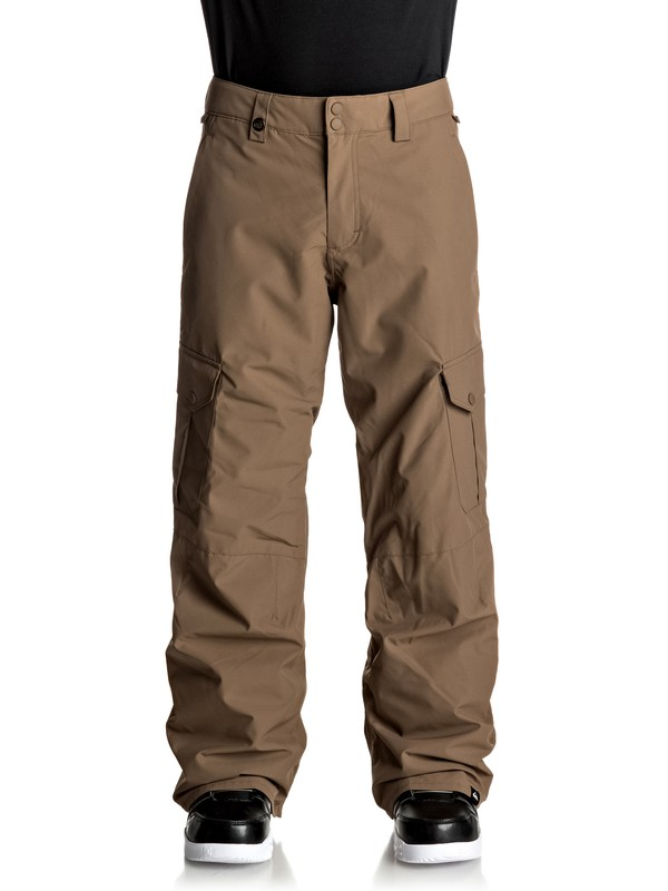 0 Porter Snow Pants Brown EQYTP03062 Quiksilver