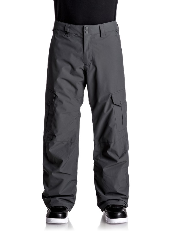 0 Porter - Pantalon de snow Noir EQYTP03062 Quiksilver