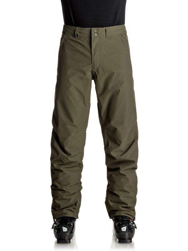 0 Estate - Pantalon de snow Marron EQYTP03064 Quiksilver