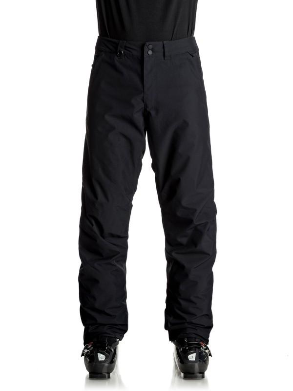 0 Estate - Pantaloni da snowboard Black EQYTP03064 Quiksilver