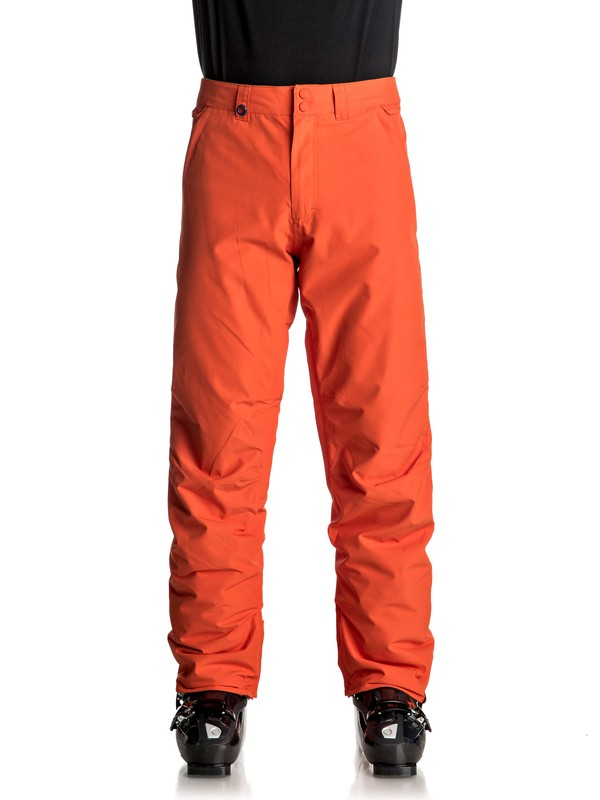 0 Estate - Pantaloni da snowboard Orange EQYTP03064 Quiksilver