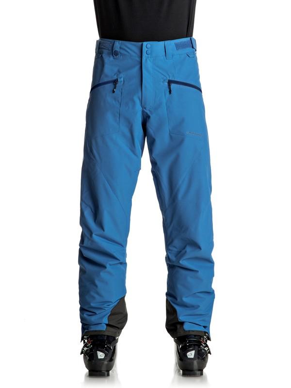 0 Boundry - Pantaloni da snowboard Blue EQYTP03065 Quiksilver