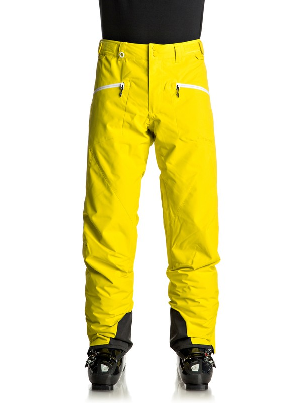 0 Boundry - Pantaloni da snowboard Green EQYTP03065 Quiksilver