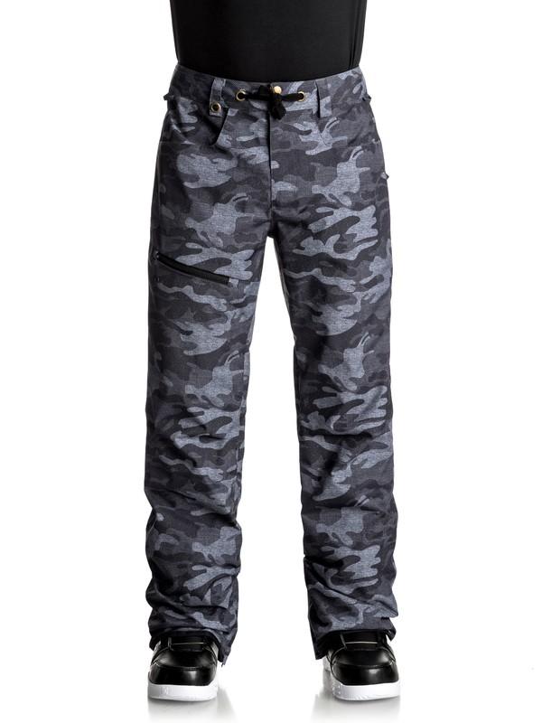 0 Forest Oak - Pantaloni da snowboard Black EQYTP03067 Quiksilver