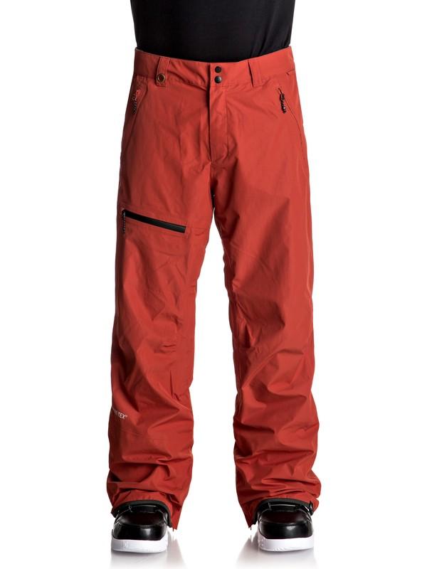 0 Forever 2L GORE-TEX® - Pantalon de snow Rouge EQYTP03068 Quiksilver