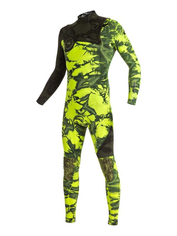 0 Highline Zipperless 3/2mm Zipperless Full Wetsuit Green EQYW103017 Quiksilver