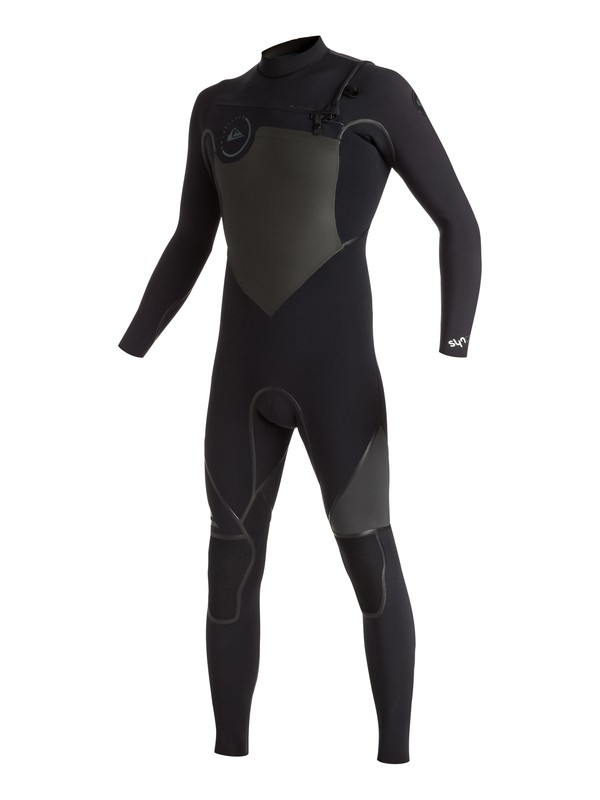 0 Syncro Plus 3/2mm Chest Zip Full Wetsuit Black EQYW103023 Quiksilver
