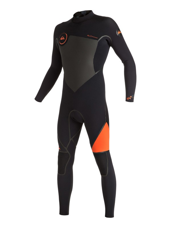 0 Syncro 3/2mm Back Zip Full Wetsuit  EQYW103024 Quiksilver
