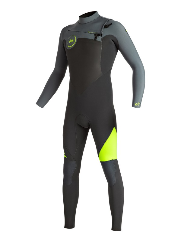 0 Syncro 4/3mm Chest Zip Full Wetsuit  EQYW103026 Quiksilver