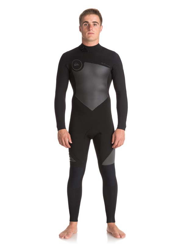 0 3/2mm Syncro Series - Back Zip GBS Wetsuit Black EQYW103037 Quiksilver