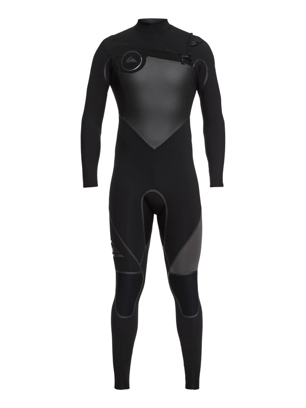 0 4/3mm Syncro Plus - Chest Zip Wetsuit Black EQYW103044 Quiksilver