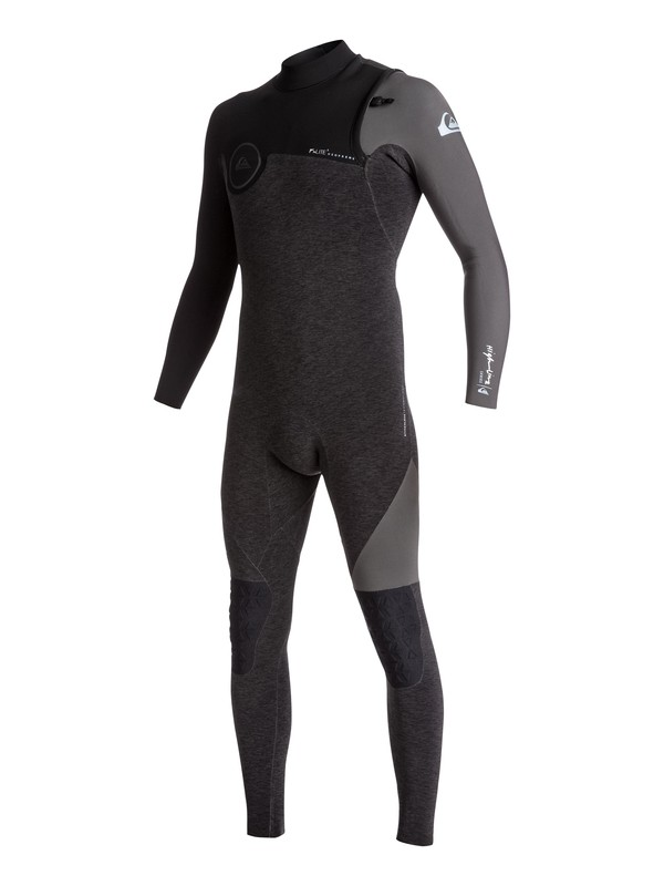 0 3/2mm Highline Series - Zipperless Wetsuit Black EQYW103050 Quiksilver
