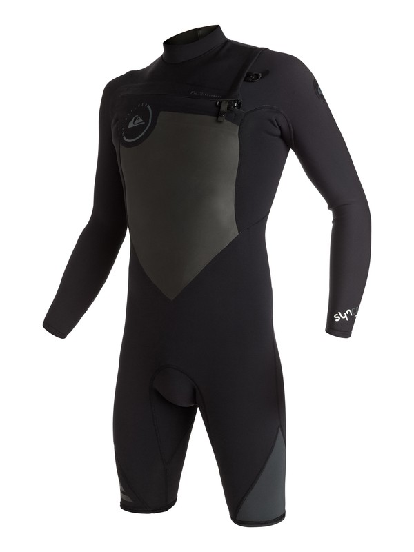 0 Syncro 2/2mm - Chest Zip Long Sleeve Springsuit  EQYW403002 Quiksilver