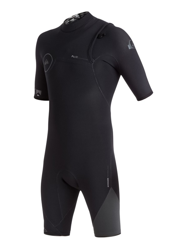 0 Highline Zipperless 2/2mm - Springsuit sans zip Noir EQYW503000 Quiksilver