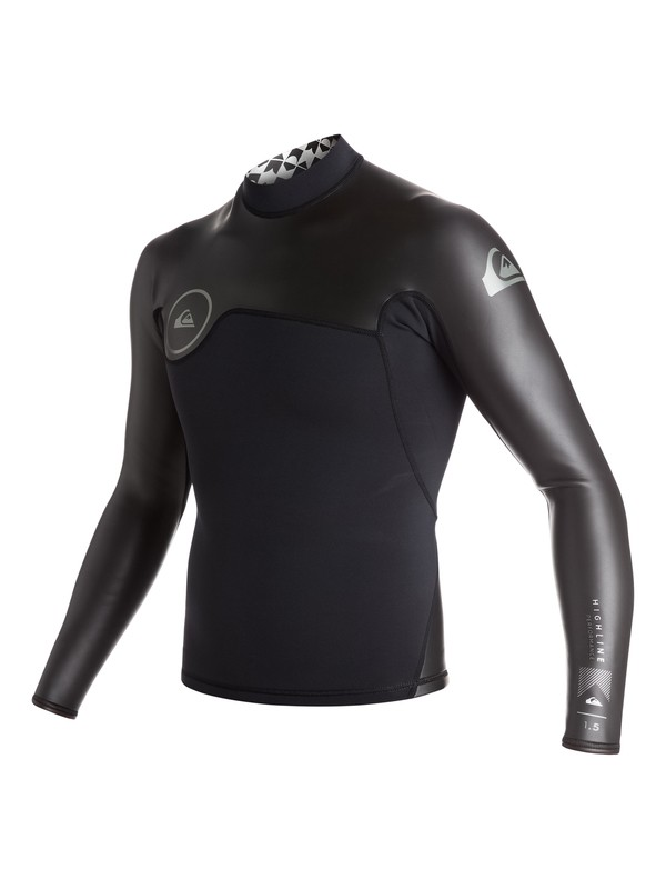 0 Highline Performance Glideskin 1.5mm - Long Sleeve Neo Top  EQYW803001 Quiksilver