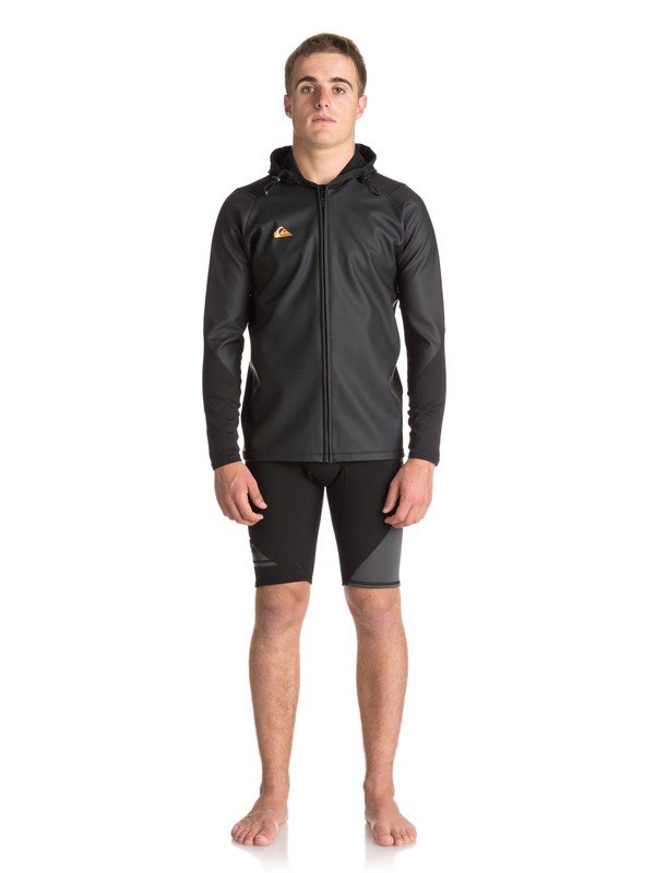 0 Waterman - Veste de paddle à capuche Noir EQYW803014 Quiksilver