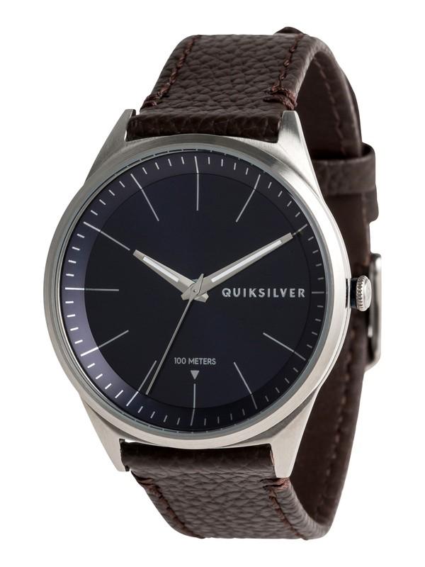 0 Bienville Leather - Montre analogique Bleu EQYWA03014 Quiksilver