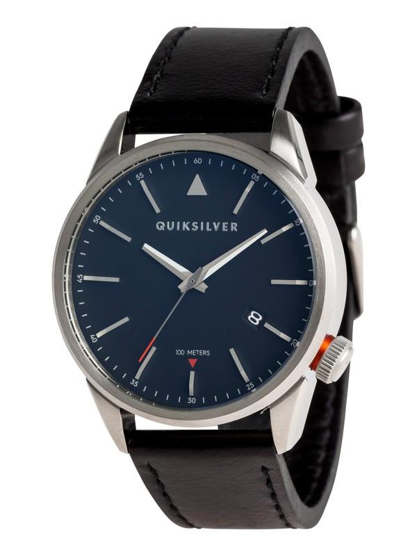0 Timebox 42 Leather - Montre analogique Gris EQYWA03027 Quiksilver