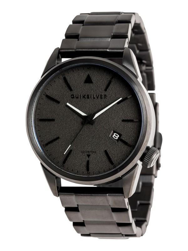 0 Timebox 42 Metal - Montre analogique Noir EQYWA03028 Quiksilver