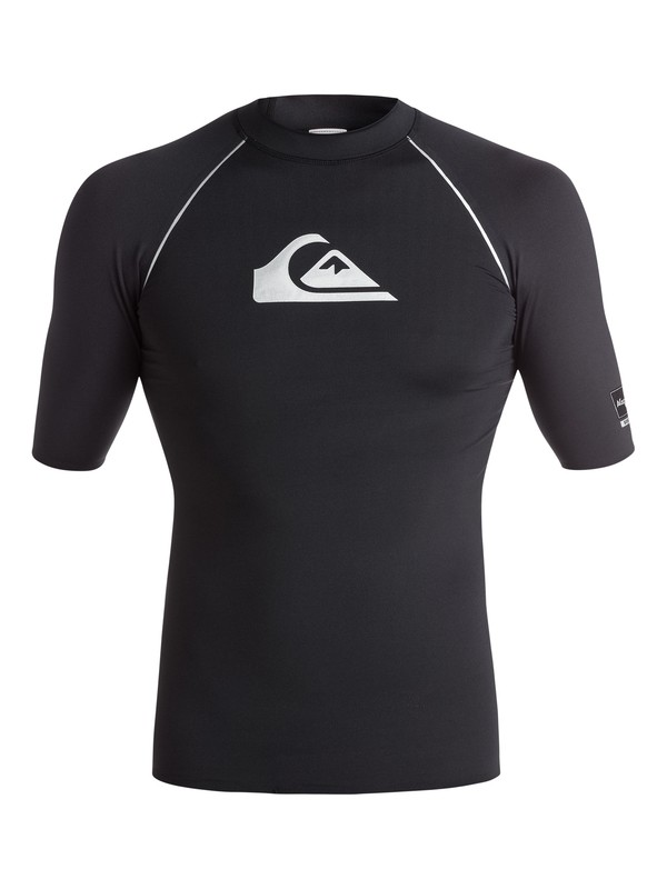 0 All Time Bonded - Surf tee Noir EQYWR03009 Quiksilver