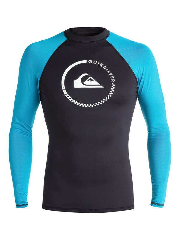0 Lock Up Long Sleeve Rashguard  EQYWR03012 Quiksilver